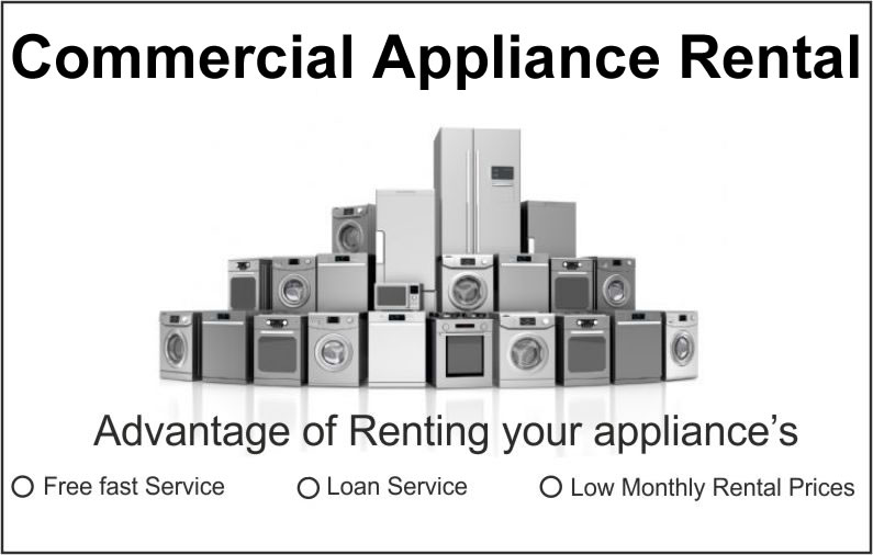 Commercial Appliance Rental at View Direct